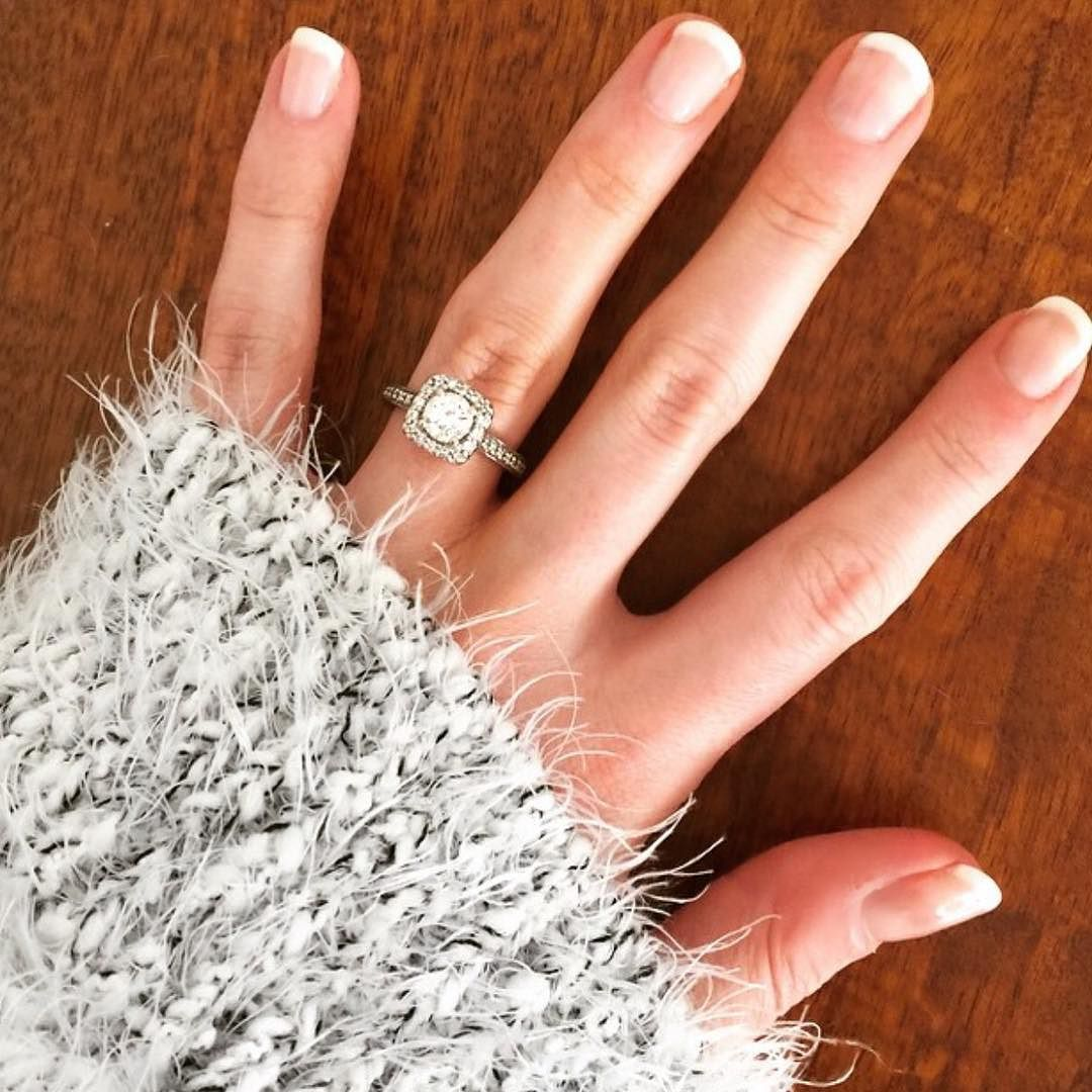 For a more natural looking manicure ask for a French gel manicure ...