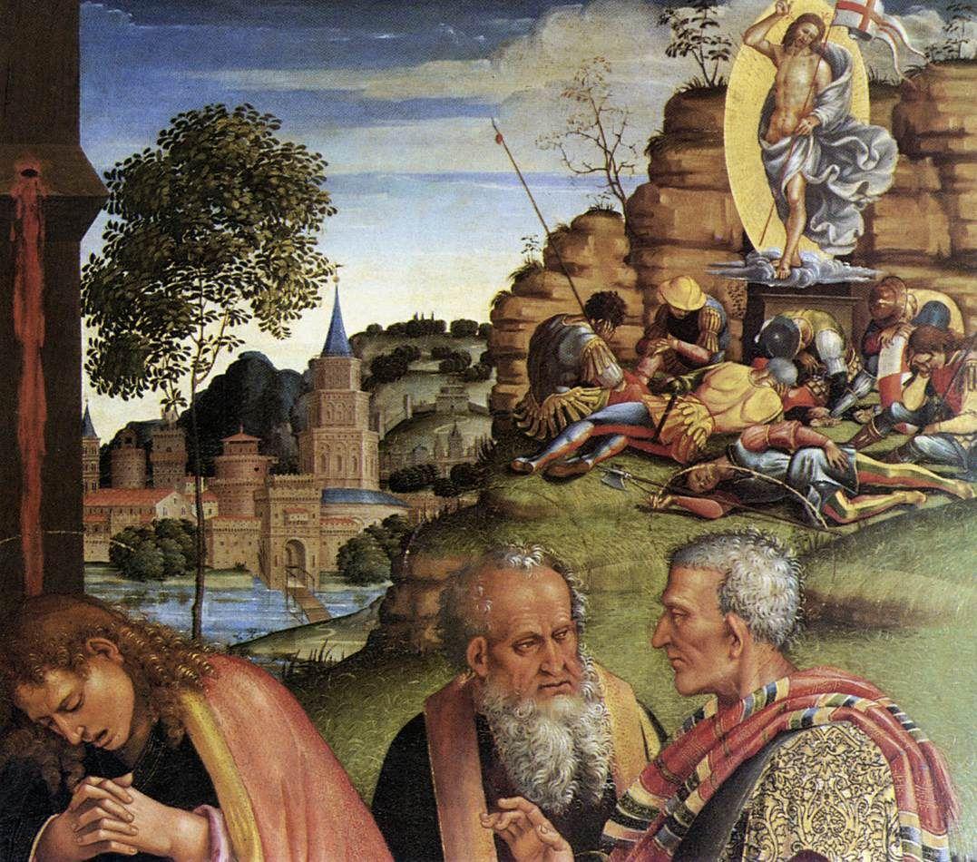 compianto per il cristo morto luca signorelli 1502 cortona museo diocesano