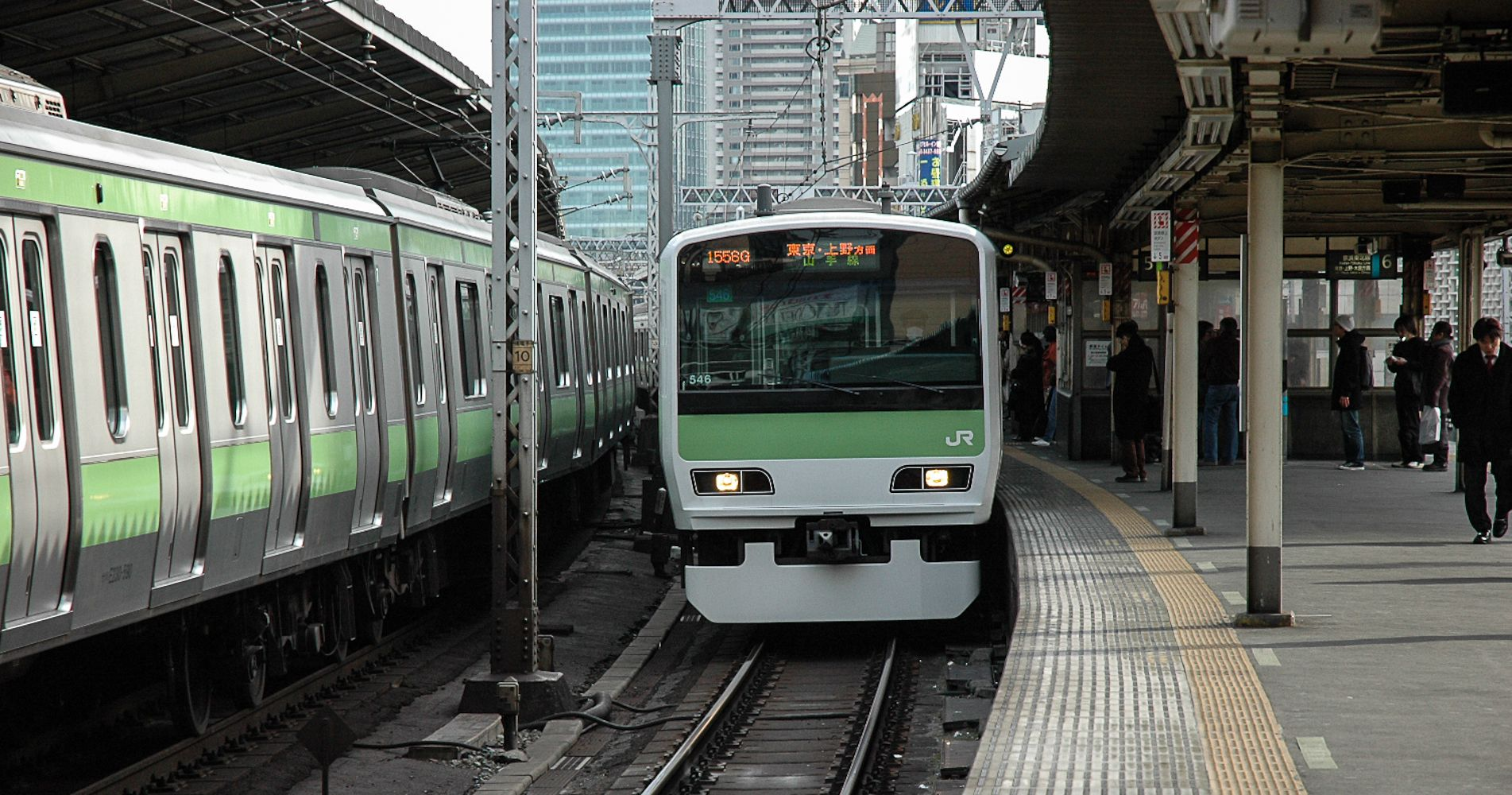 YAMANOTE-Line (East Japan Railway Company=JR East) It's a loop line that connected to all railway and subway lines in Tokyo.