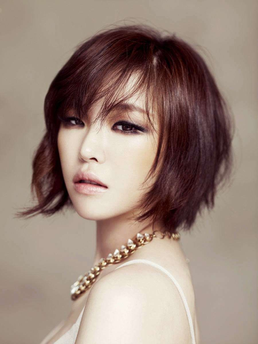 25 Gorgeous Asian Hairstyles For Girls Asian Short Hair Korean Short Hair Thick Hair Styles