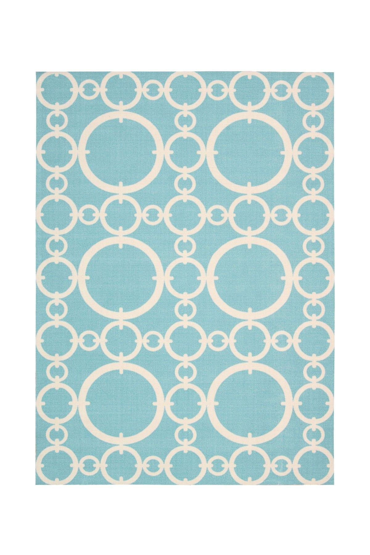 Waverly Timepiece Indooroutdoor Rug  Aquamarine Rughome #Rugs