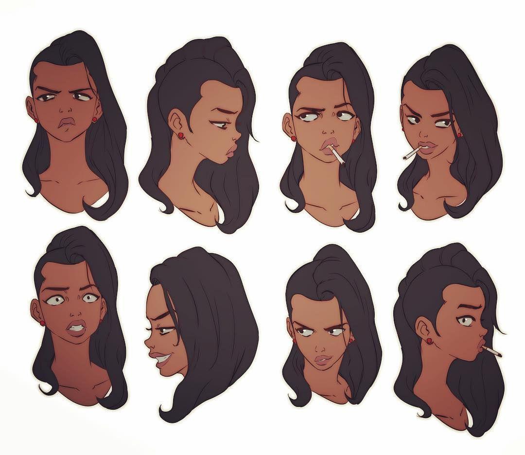 Character Design Hair : Consulta esta foto de instagram david tako me