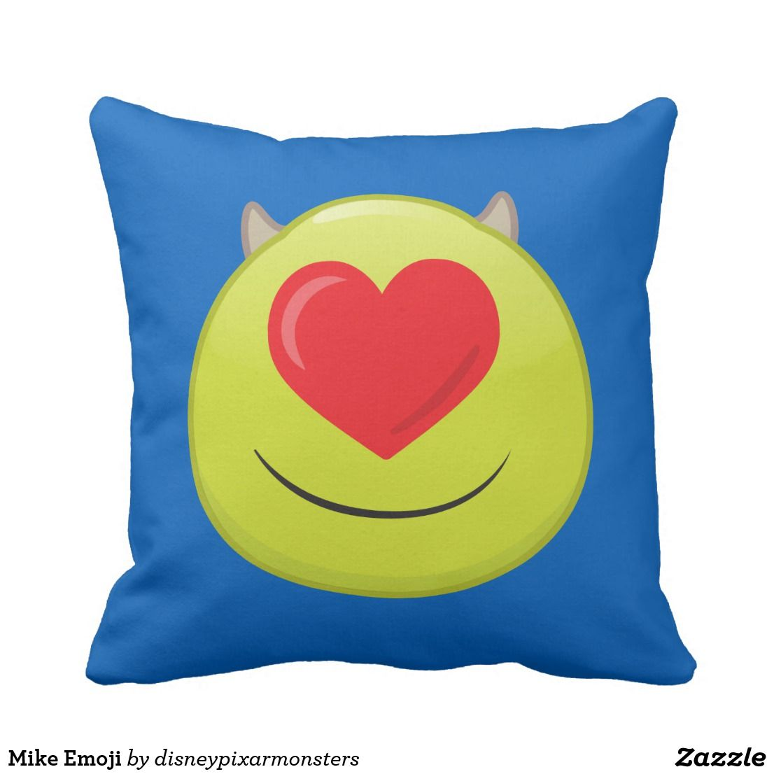 Mike emoji throw pillow emoji pillows pinterest emoji