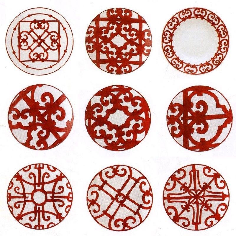 Hermès porcelaine   geometric patterns   Pinterest   Hermes ... d33e51e178e