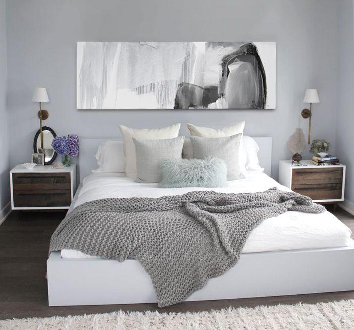Original Painting 'Neo' 1.8m X 60cm $620 White Grey Black