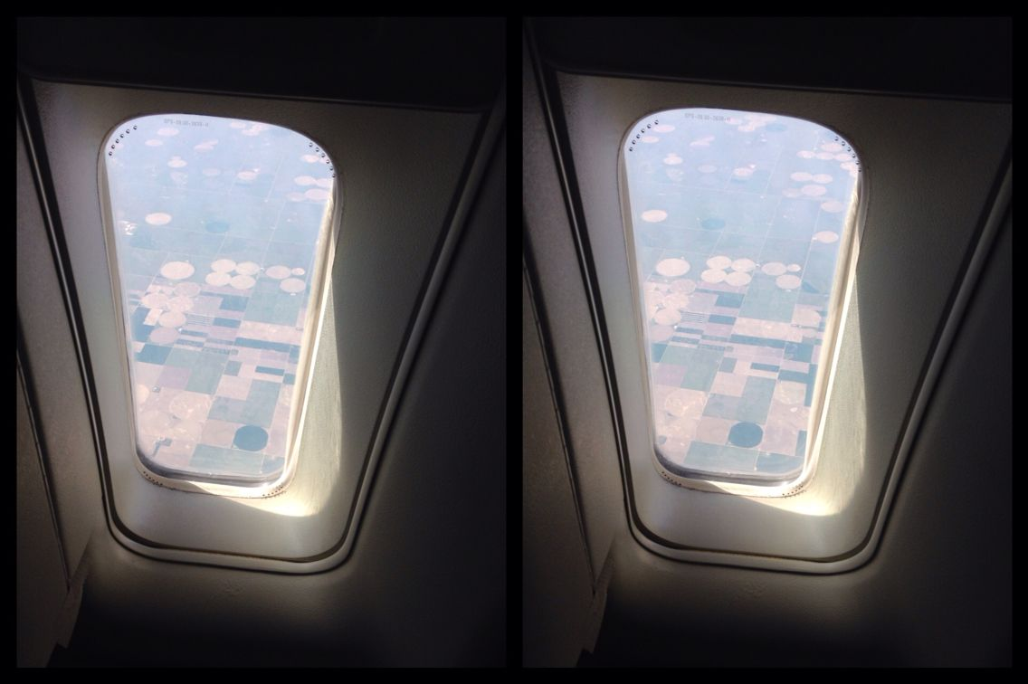 Stereo Pair While Flying From Los Angeles To New Jersey Art And Technology Optical Illusions Stereo