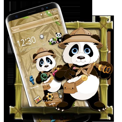 If you like #panda, then download our #cute #panda #2d theme