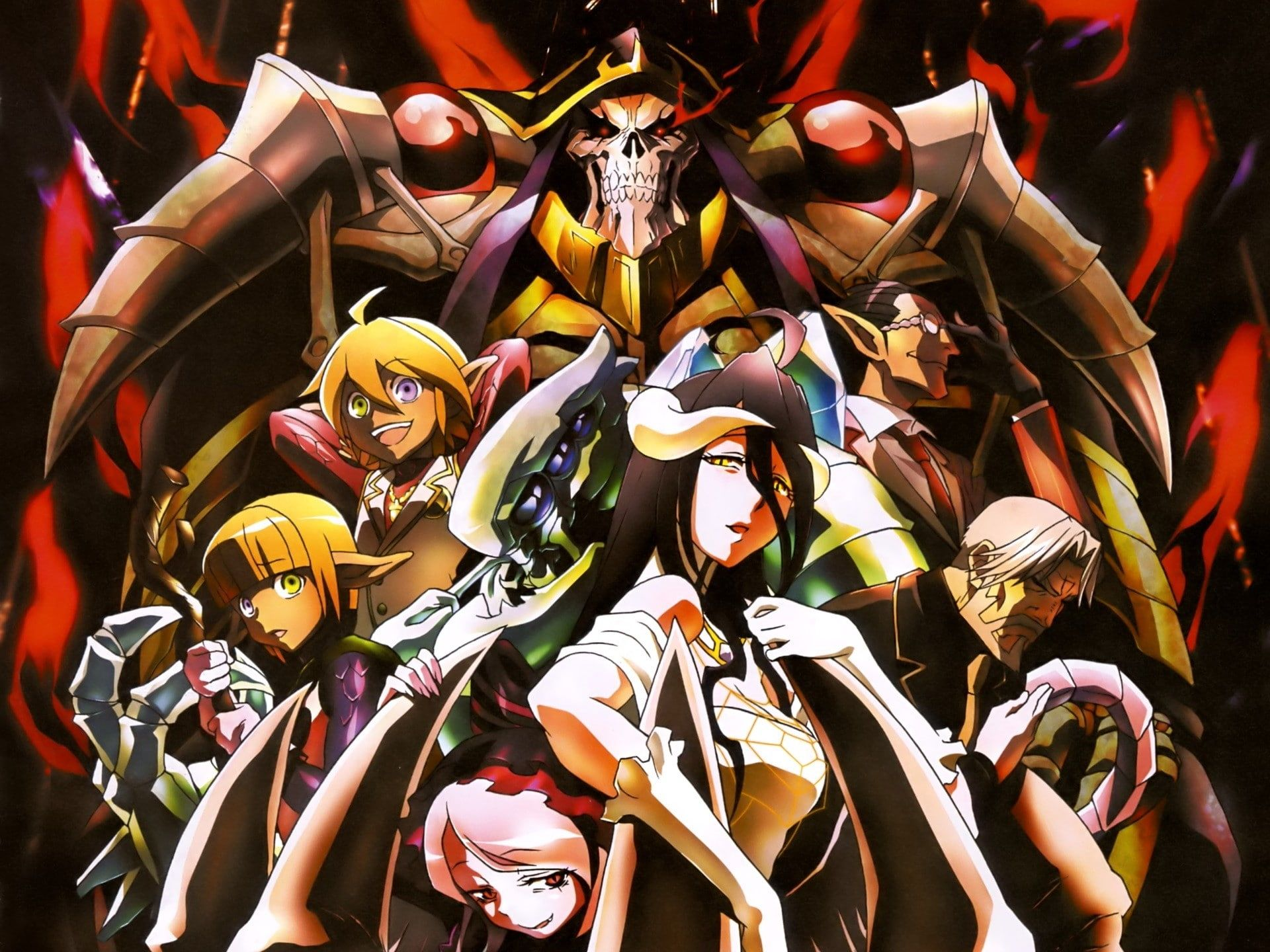 Overlord Anime Mare Bello Fiore Overlord Scanned Image Albedo Overlord Demiurge Overlord Ainz Ooal Gown Sebas Ti Anime Anime Images Character Wallpaper 10 overlord anime wallpaper