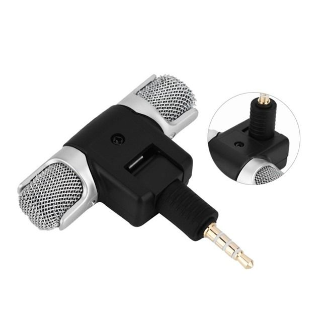 Highly affordable and compact stereo microphone