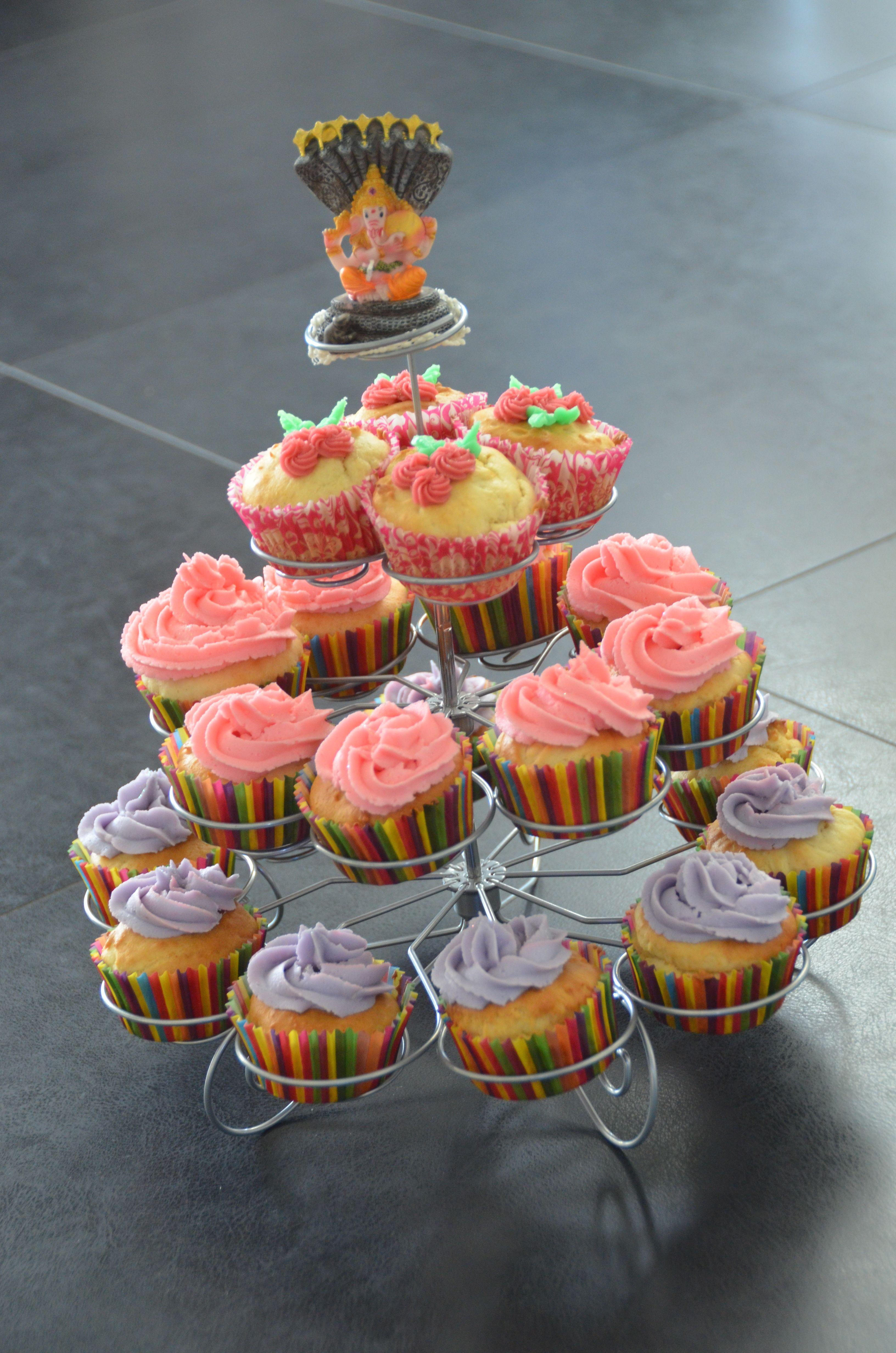 Ganesh Chaturthi Cupcakes Spiritual Cake Decorating ...
