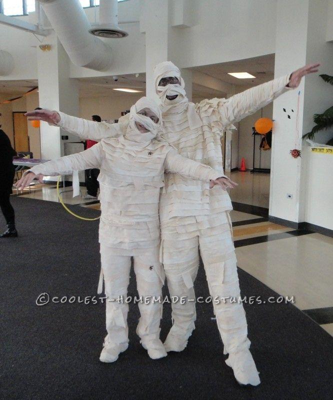 Best Homemade Halloween Mummies Ever Homemade halloween, Homemade - mens homemade halloween costume ideas