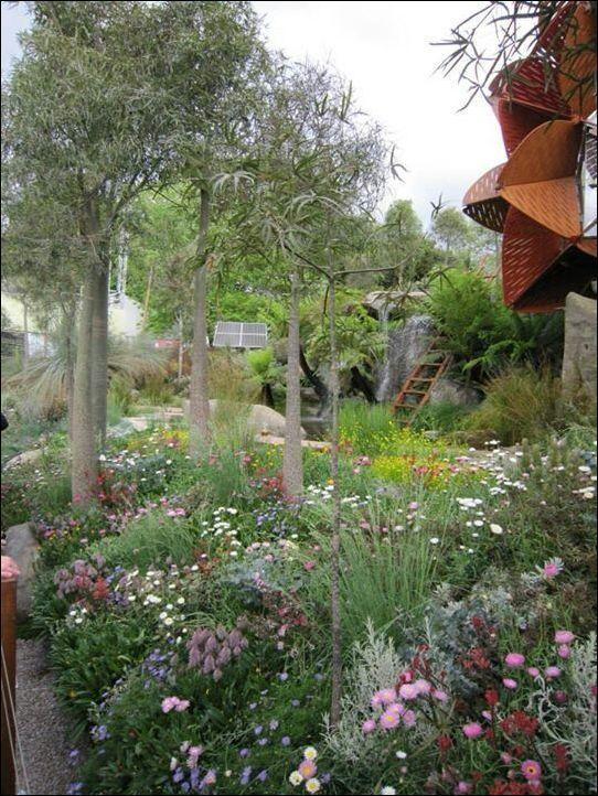 garden ideas for spring bamboo flower stone steping 41