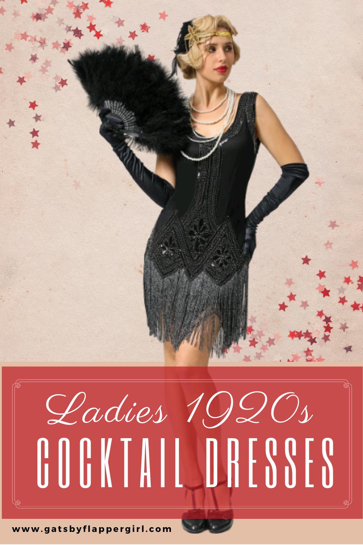 1920s Cocktail Dresses Flapper 20s Party Dress Styles 1920s Cocktail Dresses Gatsby Party Outfit Party Outfit [ 1500 x 1000 Pixel ]
