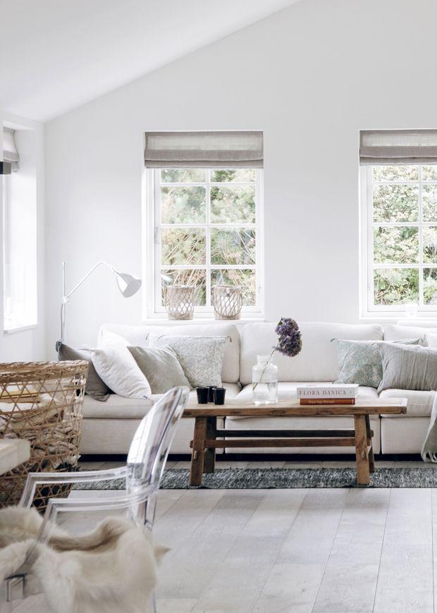 Meuble en bois brut, ambiance nature | Living room styles, Room ...
