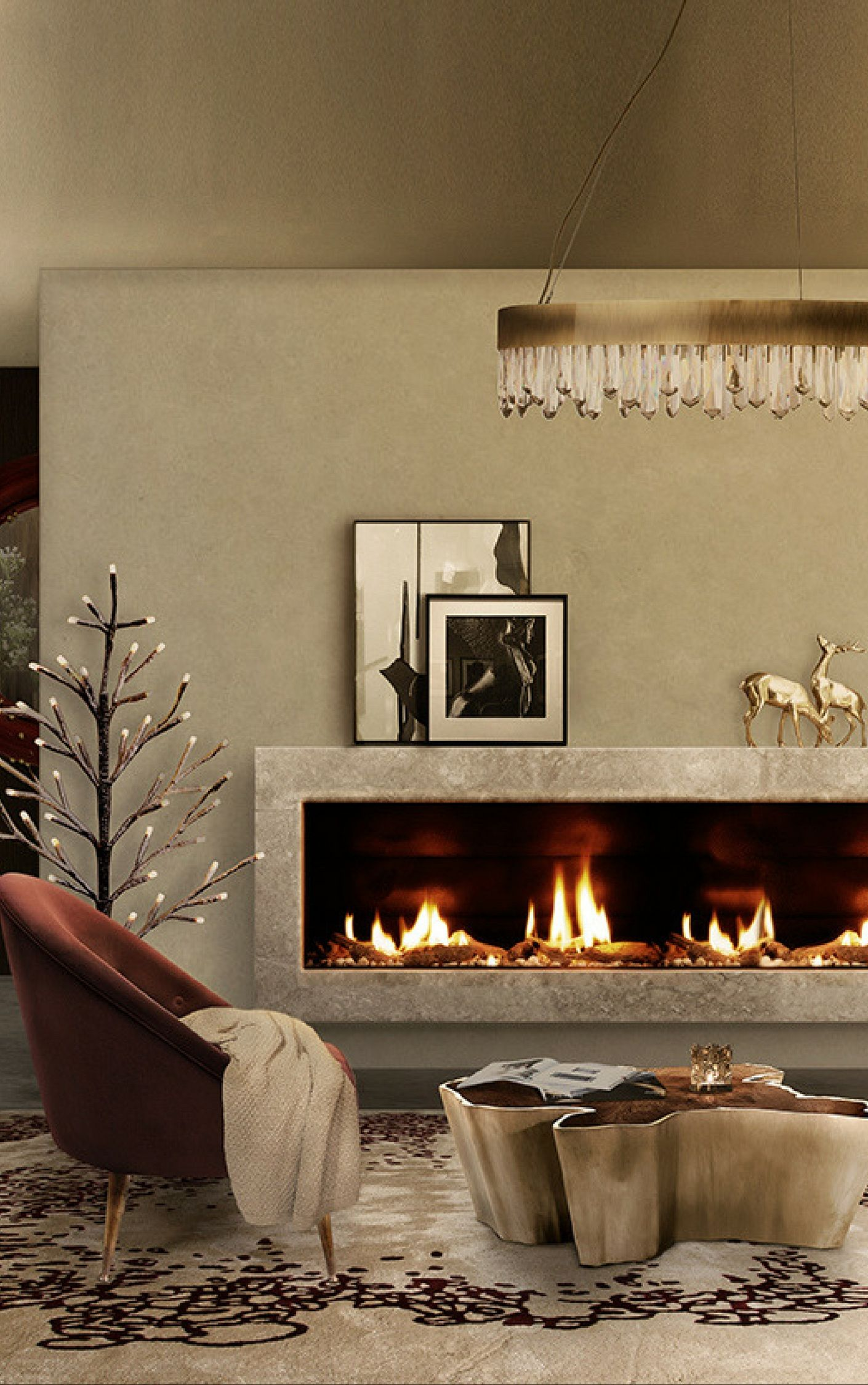 Wohnzimmer spiegelmöbel erstaunliches wohnzimmer trendbook  fernsehzimmer spiegel  säule