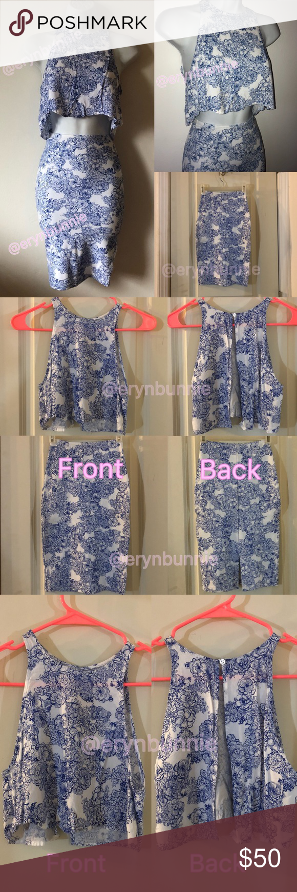 American Apparel Top & Skirt Set • XS AA matching 2 piece