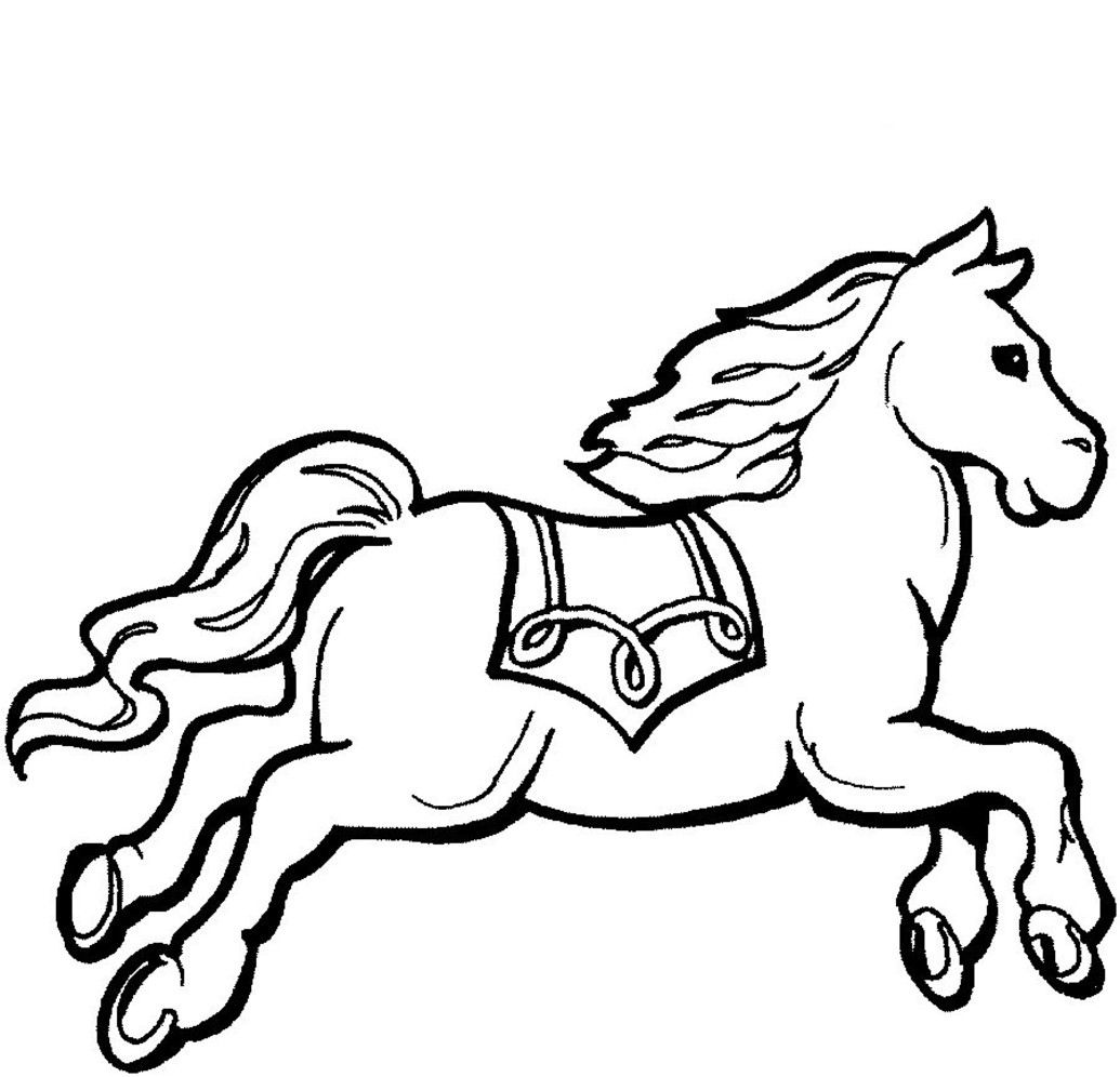 Pin By Kiddies Radio On Kids Colouring Pages Horse Coloring