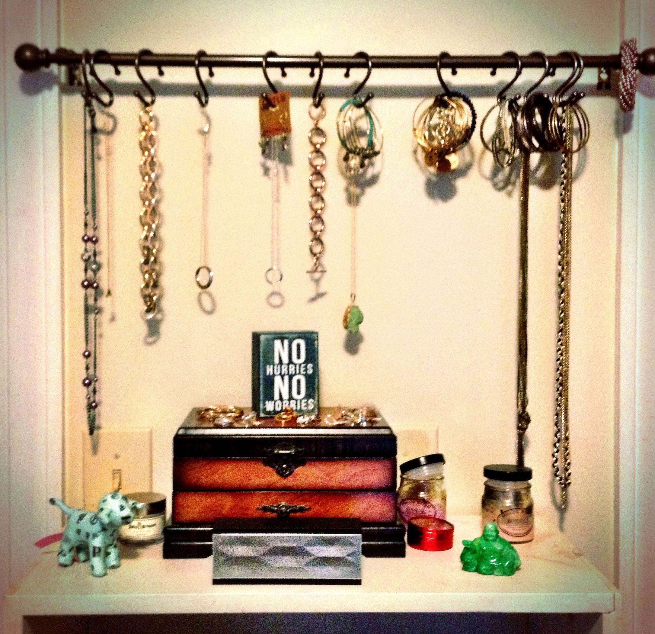 Jewelry storage display | Projects | Pinterest | Display, Storage ...