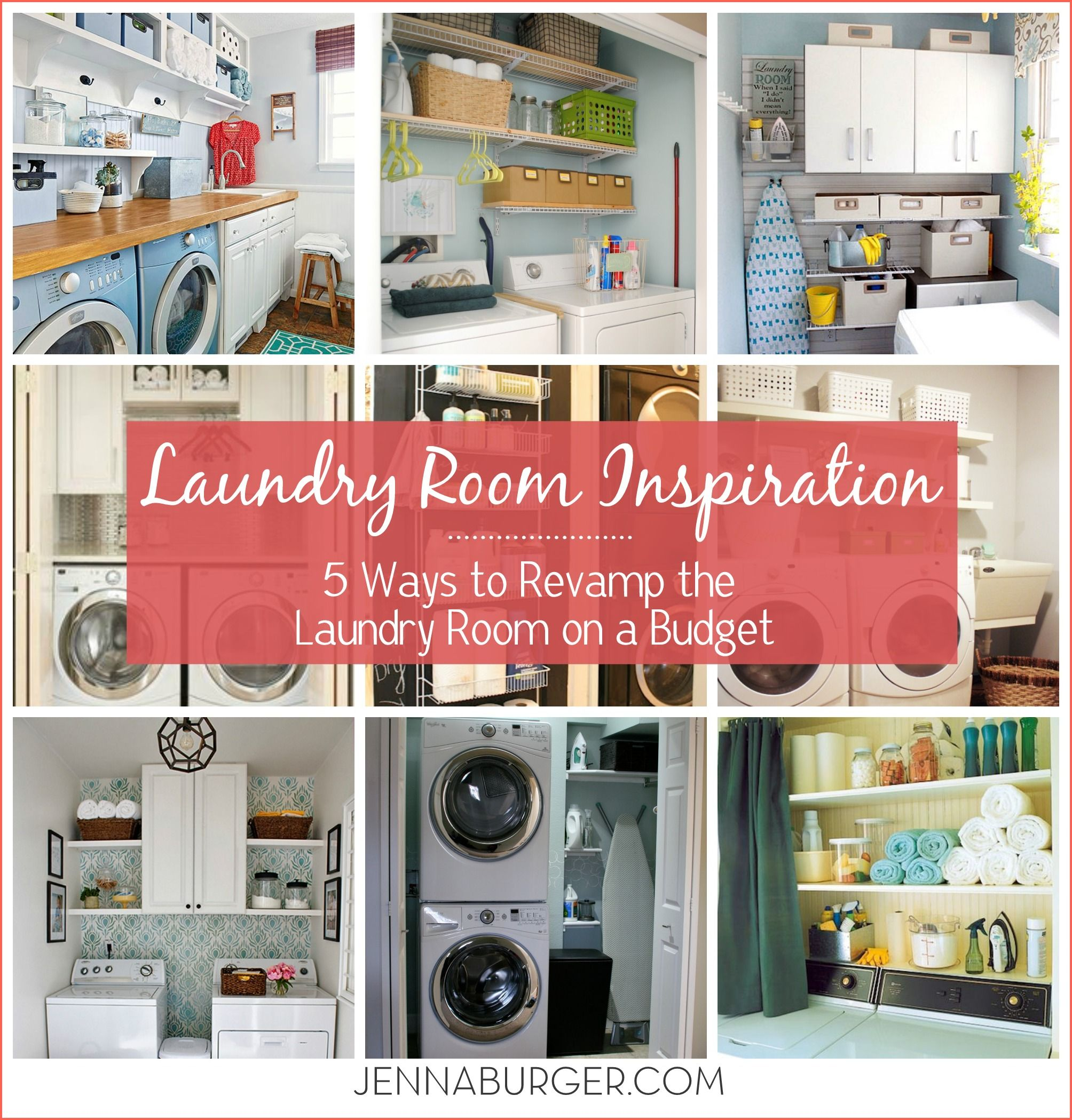 Laundry Room Inspiration: 5 Ways To REVAMP A Laundry Room