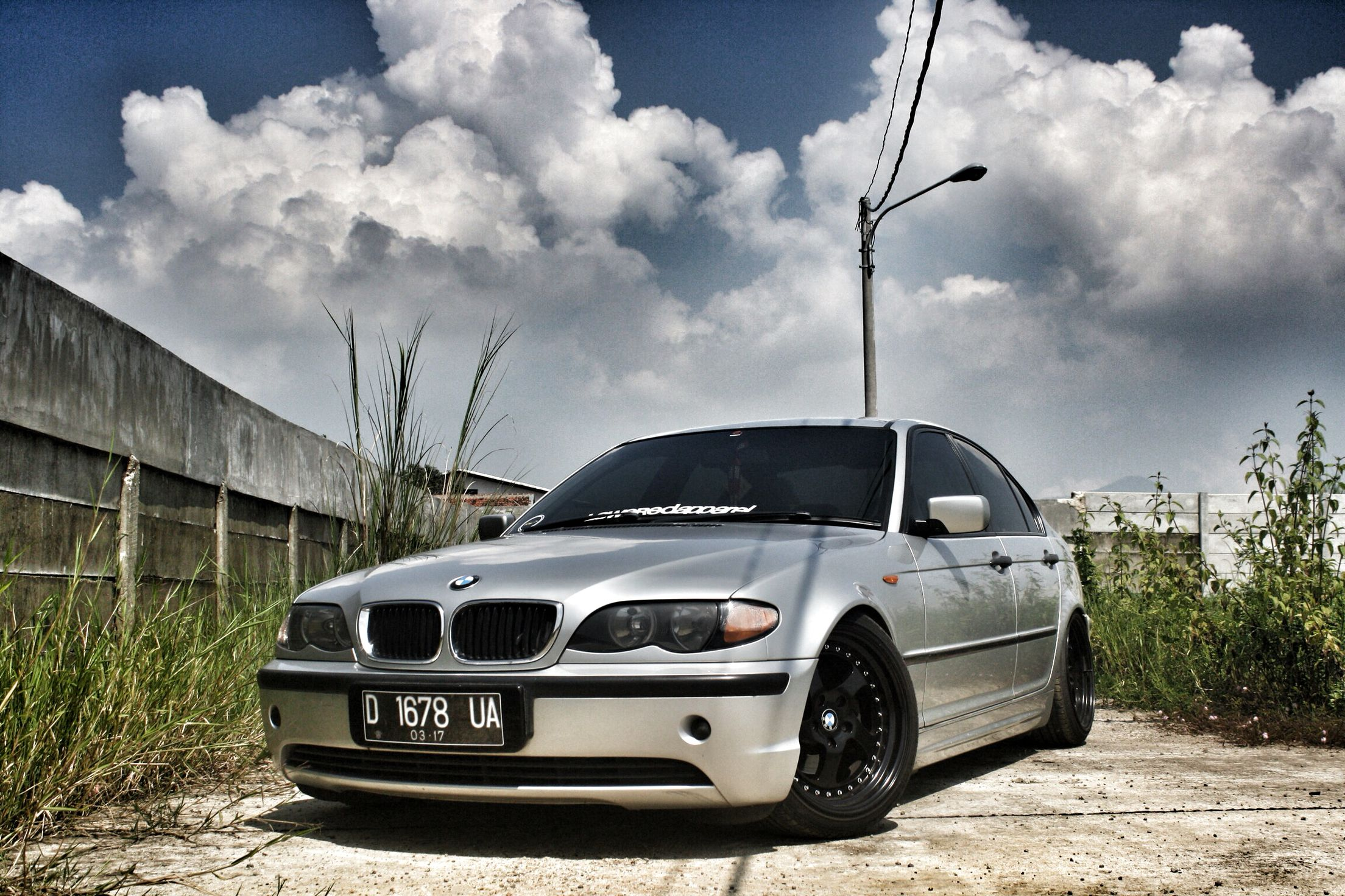 BMW E46 Facelift Lowered