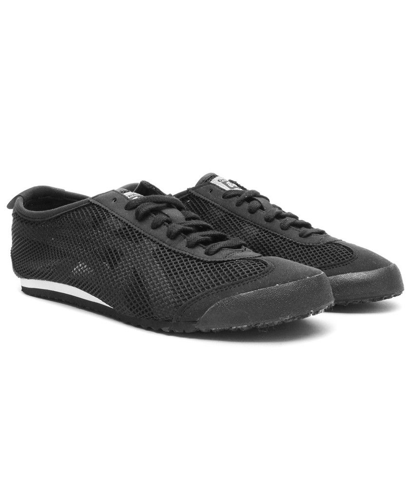 buy popular d7193 294c0 Asics - Onitsuka Tiger Mexico 66 Mesh (Black/White ...