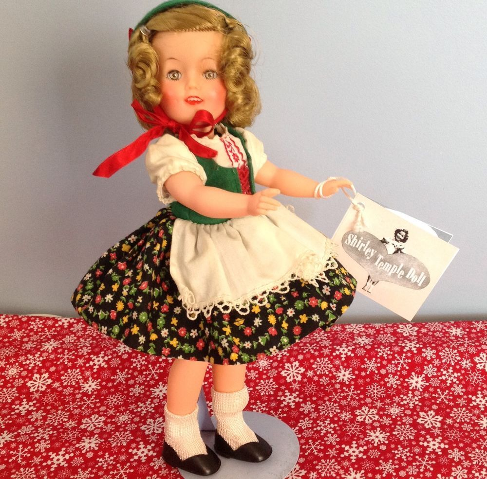 12 All Original Ideal Shirley Temple Doll Original Heidi Outfit Shirley Temple Shirley Temple Black Outfits