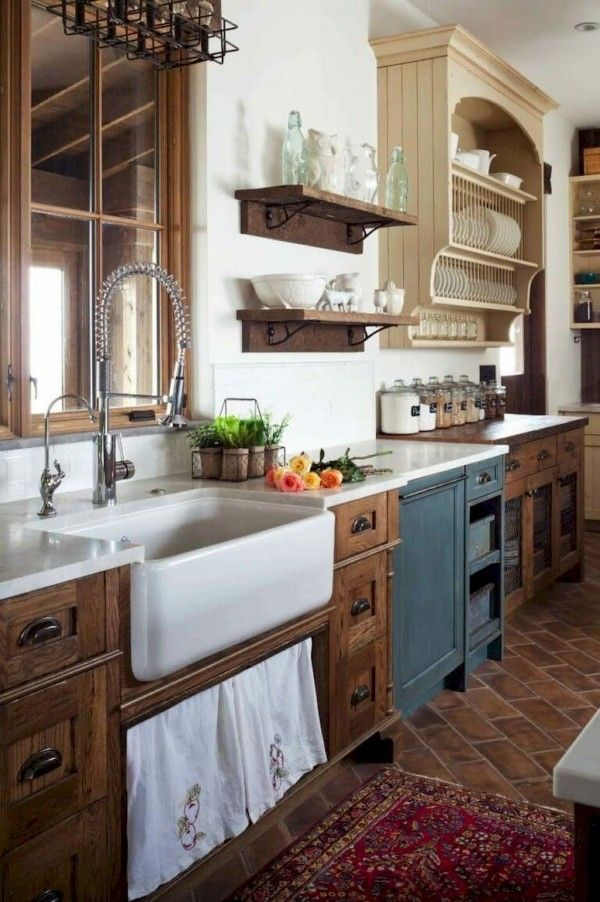Die Landhausküche ist wieder mal stark im Kommen - Fresh Ideen für das Interieur, Dekoration und Landschaft