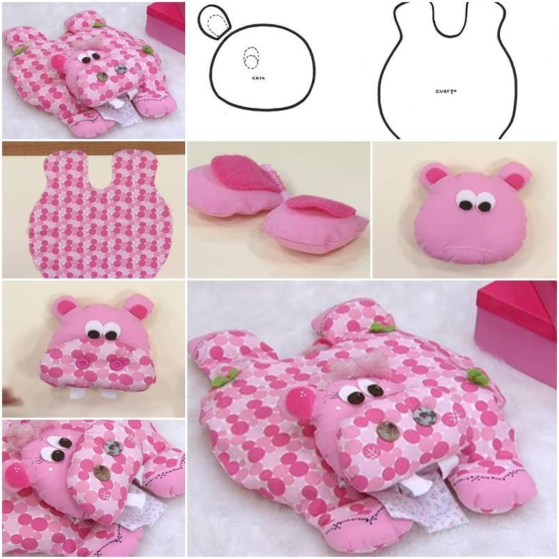 How to make hippo pillow step by step diy tutorial instructions how how to make hippo pillow step by step diy tutorial instructions how to how solutioingenieria Images