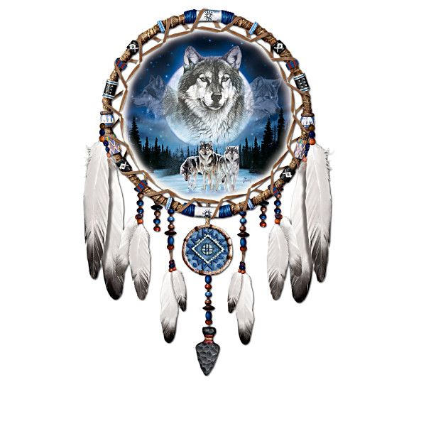 Spirits of the pack wall decor collection native for American indian decoration