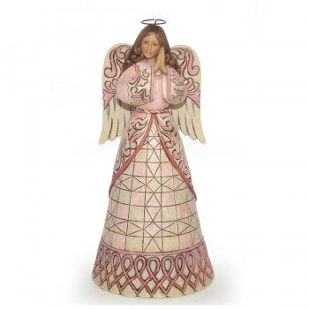 Jim Shore A Prayer For Healing-Susan G. Komen Breast Cancer Angel Figurine  It's a shame they don't deliver this to Australia :-(