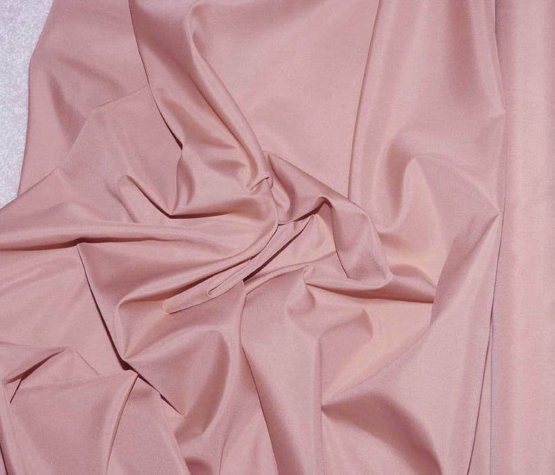 Rohseide Polyester Futter Stoff Altrosa 60 Fur Etsy Fabric Lining Fabric Dusty Rose