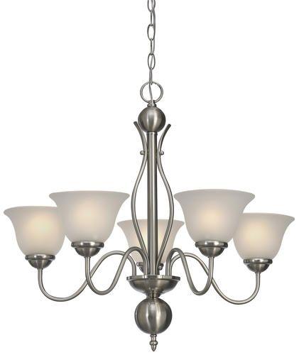 Irelyn 5 light 24 brushed nickel chandelier at menards traditional chandeliersindoor lights5