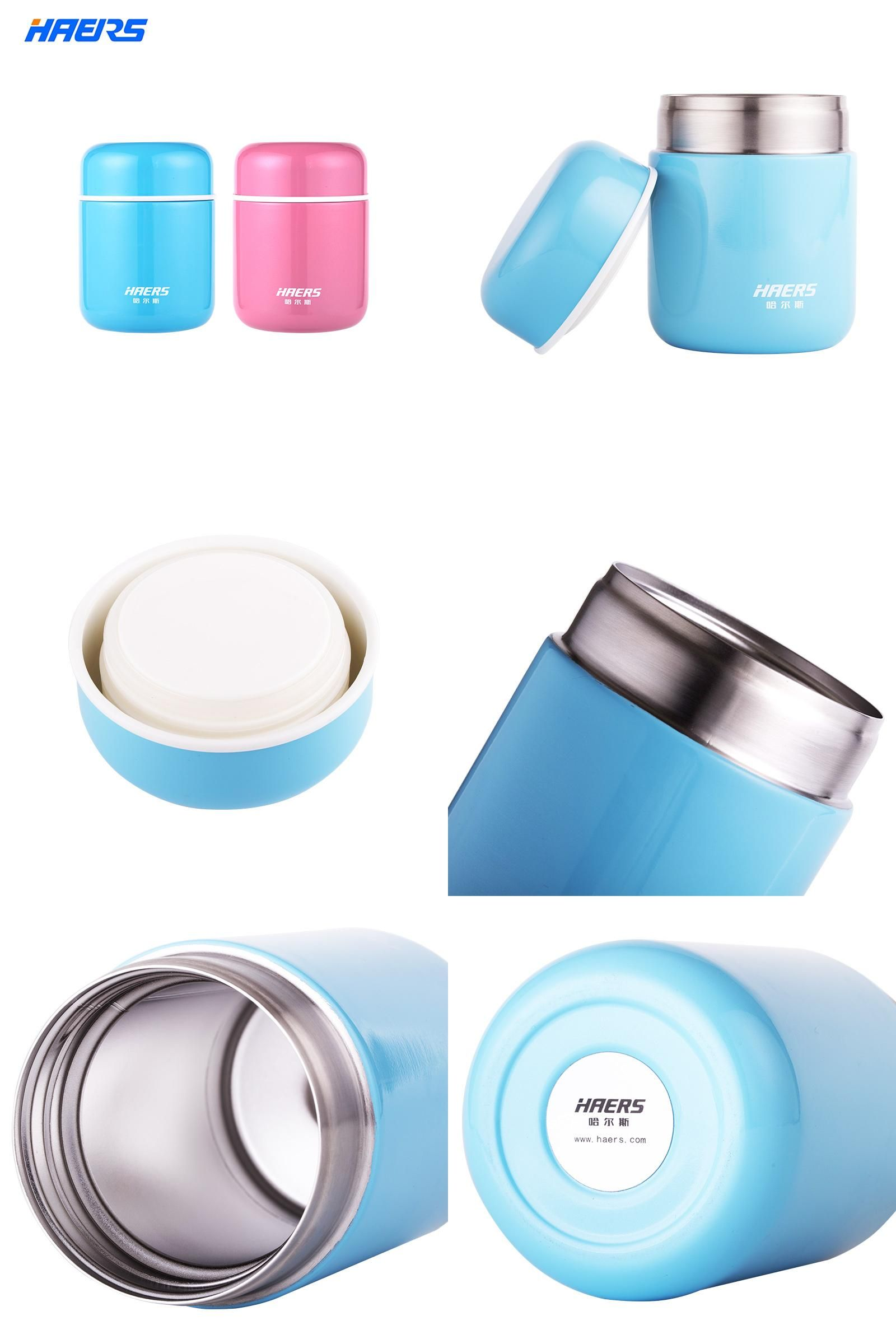 Visit to Buy] Haers Candy Color Food Soup Thermos BPA-free Stainless ...