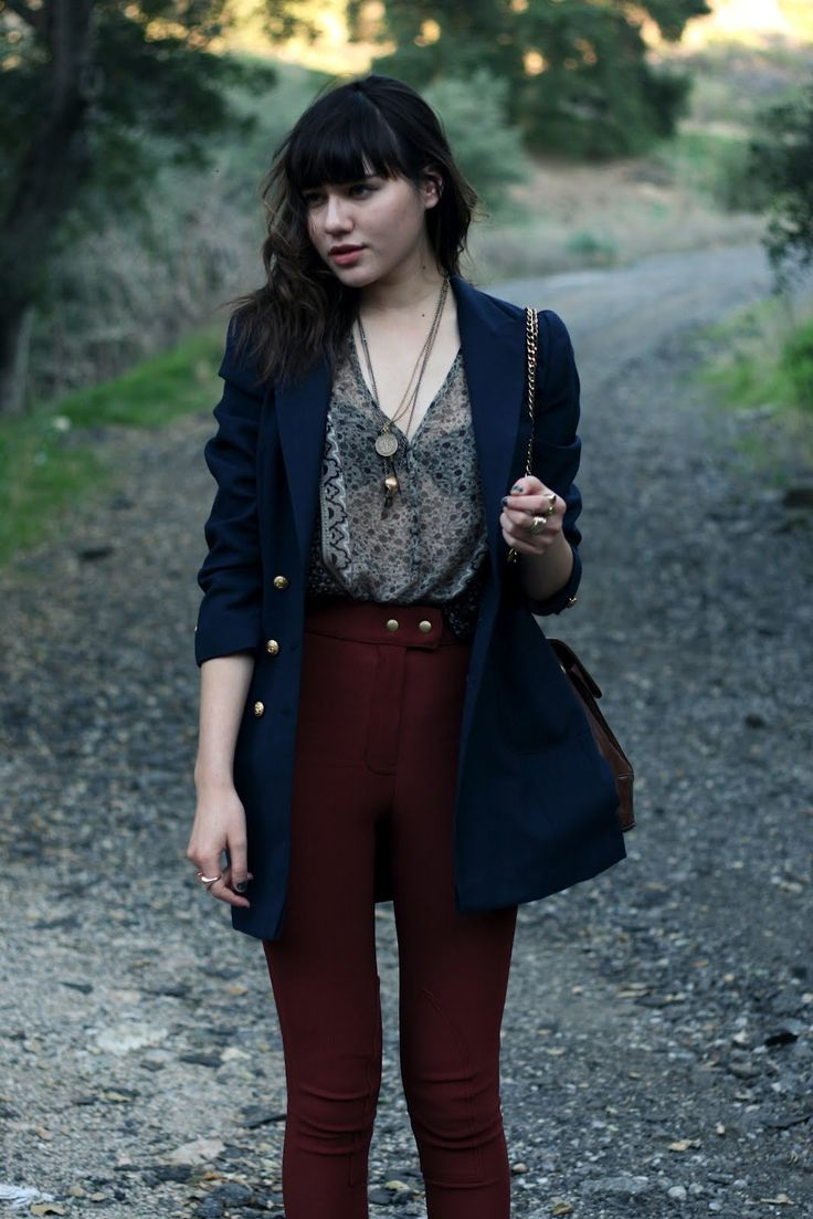 Vintage jacket, Joie blouse, American Apparel riding pants, Anthropologie flats, Chanel bag, Ax+Apple necklace (scheduled via http://www.tailwindapp.com?utm_source=pinterest&utm_medium=twpin&utm_content=post11931484&utm_campaign=scheduler_attribution)