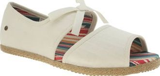 UGG australia White Ashleen Girls Youth Your little princess will look beautifully stylish in the Ashleen from UGG. The two-part white cotton upper features an elasticated grosgrain bow for pretty styling and no-fuss slip-on wear. Jute foxi http://www.comparestoreprices.co.uk/january-2017-8/ugg-australia-white-ashleen-girls-youth.asp