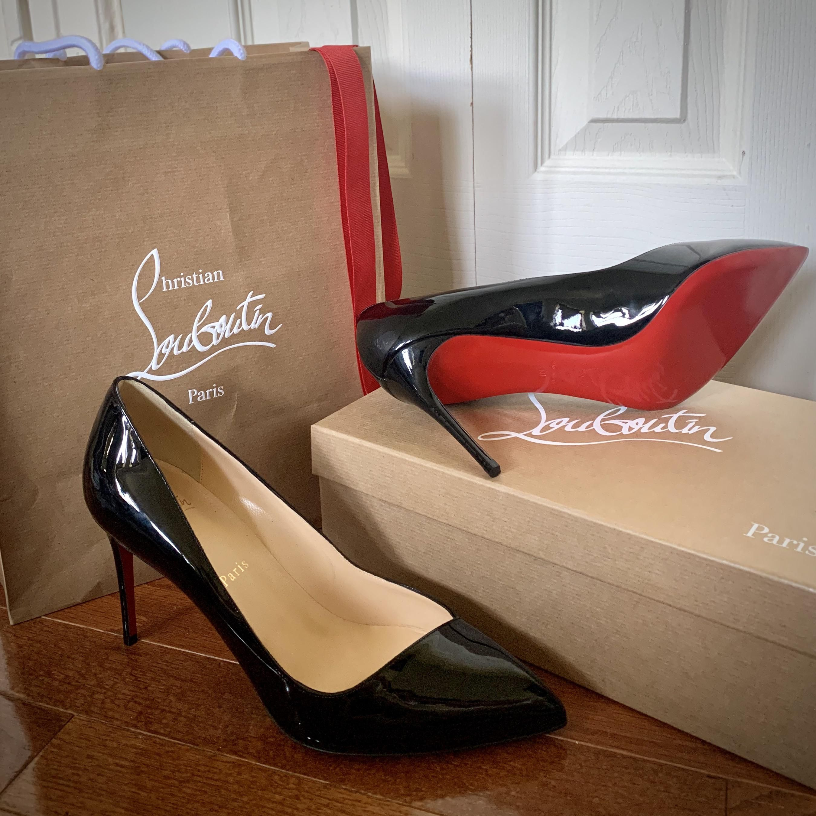 I got my first pair of Louboutin heels