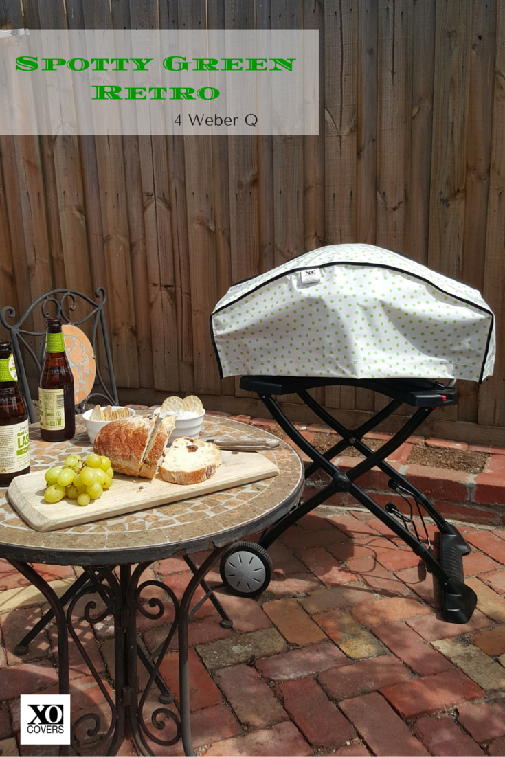 Colour Up Your Outdoor Entertaining Area (balcony, Courtyard, Garden Or  Patio) With A Weber BBQ Cover From XO Covers. They Look Great And Are  Functional ...