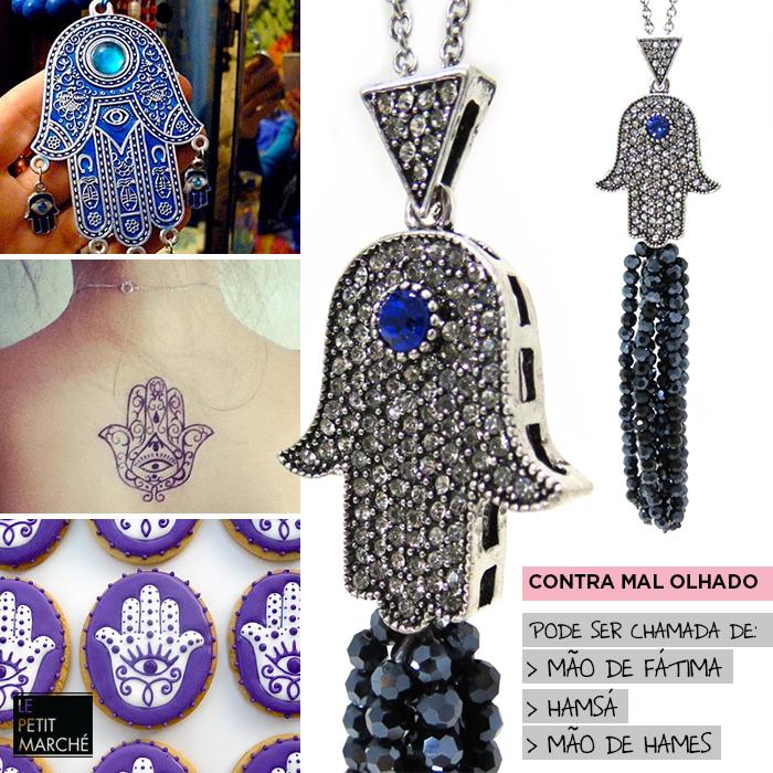 Inspiração Fashion: Colar Mão de Fátima ( Hamsá/ Mão de Hames) #maodefatima #hamsa #fashion #cool