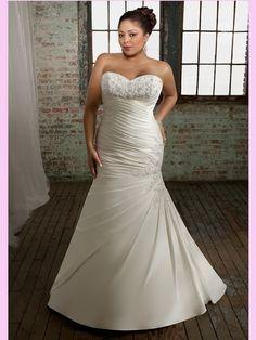 Kleinfeld's Trumpeters Taffeta Wedding Dresses