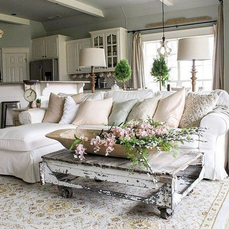 80+ Amazing French Country Living Room Decor Ideas