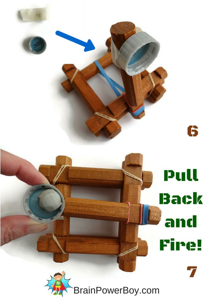 Catapult Craft For Kids: Make Your Own Log Catapult (Made Out Of Lincoln Logs