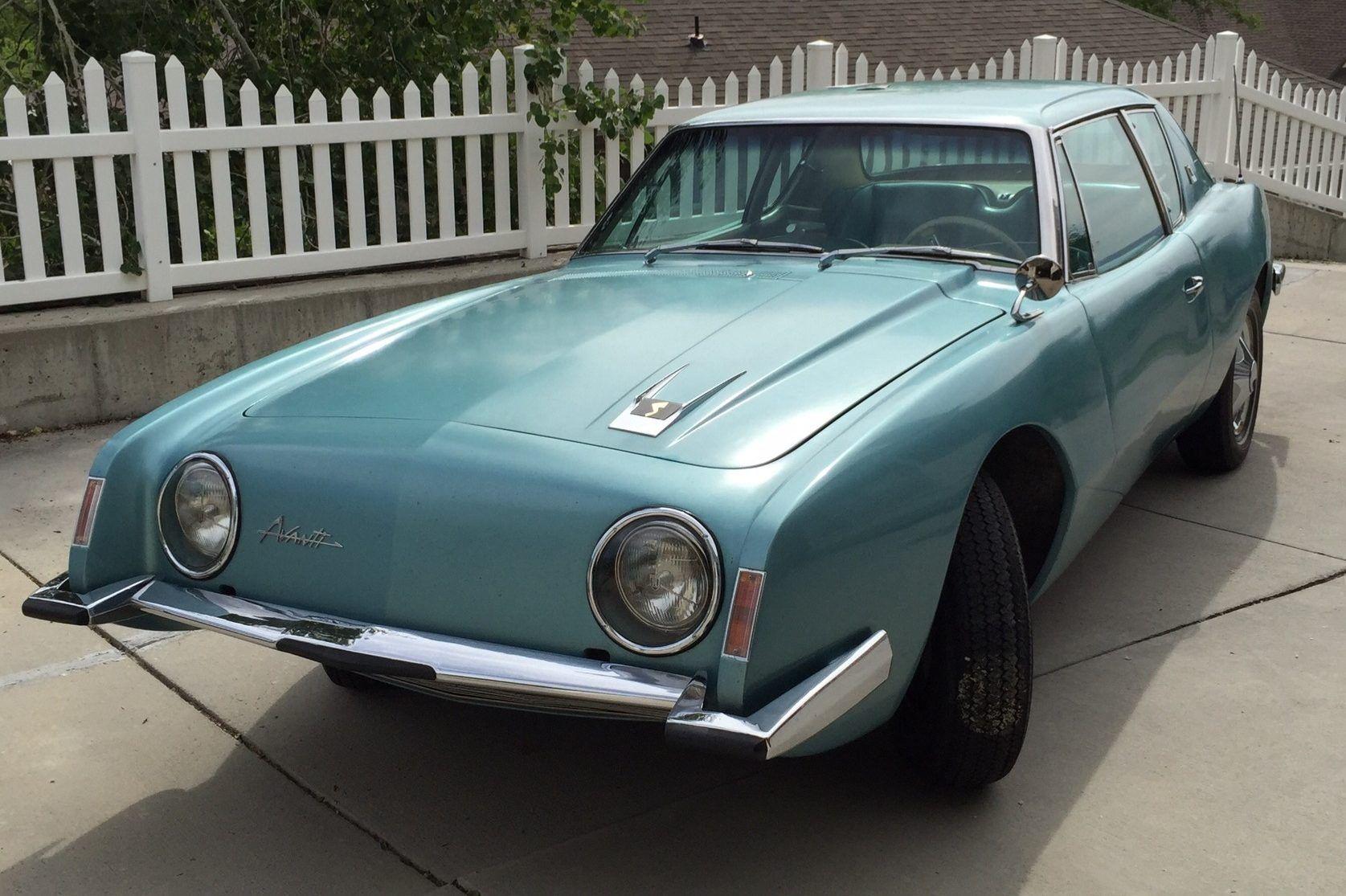 Single-Family-Owned 1963 Studebaker Avanti #sweetcars