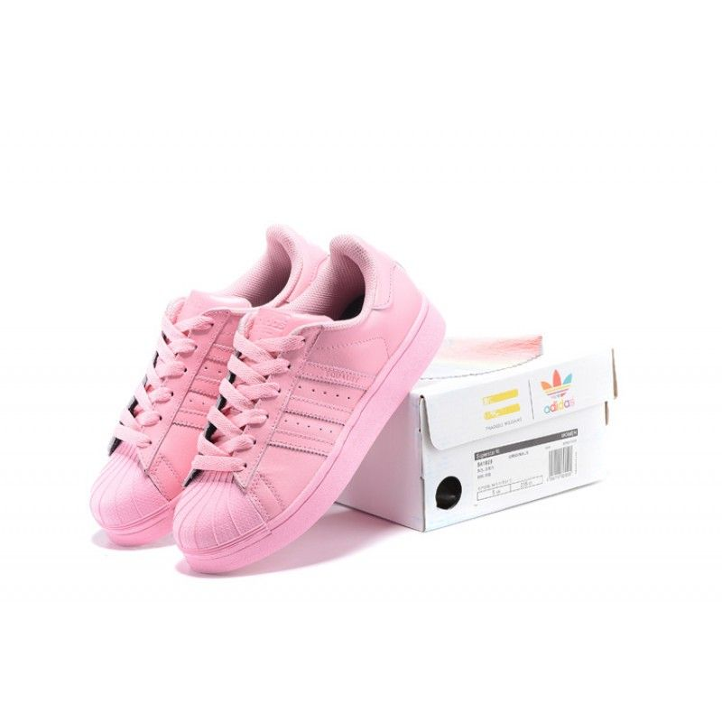 adidas superstar pharrell williams supercolor light pink