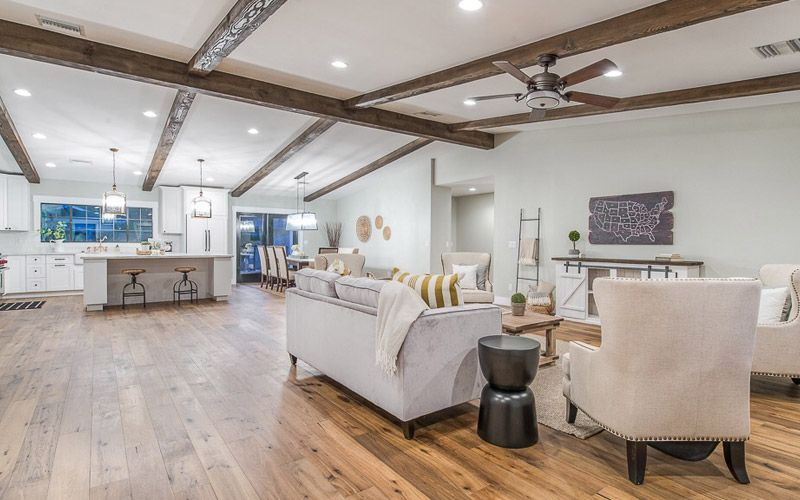 Arcadia Custom Home Interior Redesign - Two Hawks Design ...