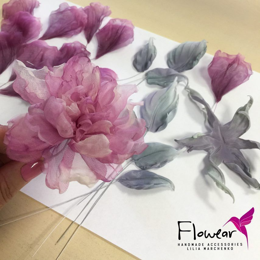 Best 11 Peony Flower Tutorial – YouTube – SkillOfKing.Com #flowerfabric