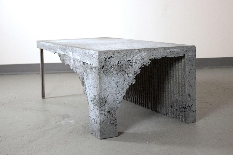 Concrete Coffee Table On Mica Portfolios Concrete Coffee Table Coffee Table Concrete Furniture
