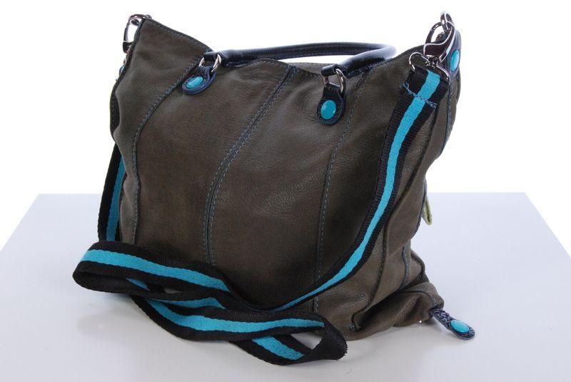 Ce sac Gabs de couleur kaki est en très bon état. Nous n'avons pas constaté de défauts.