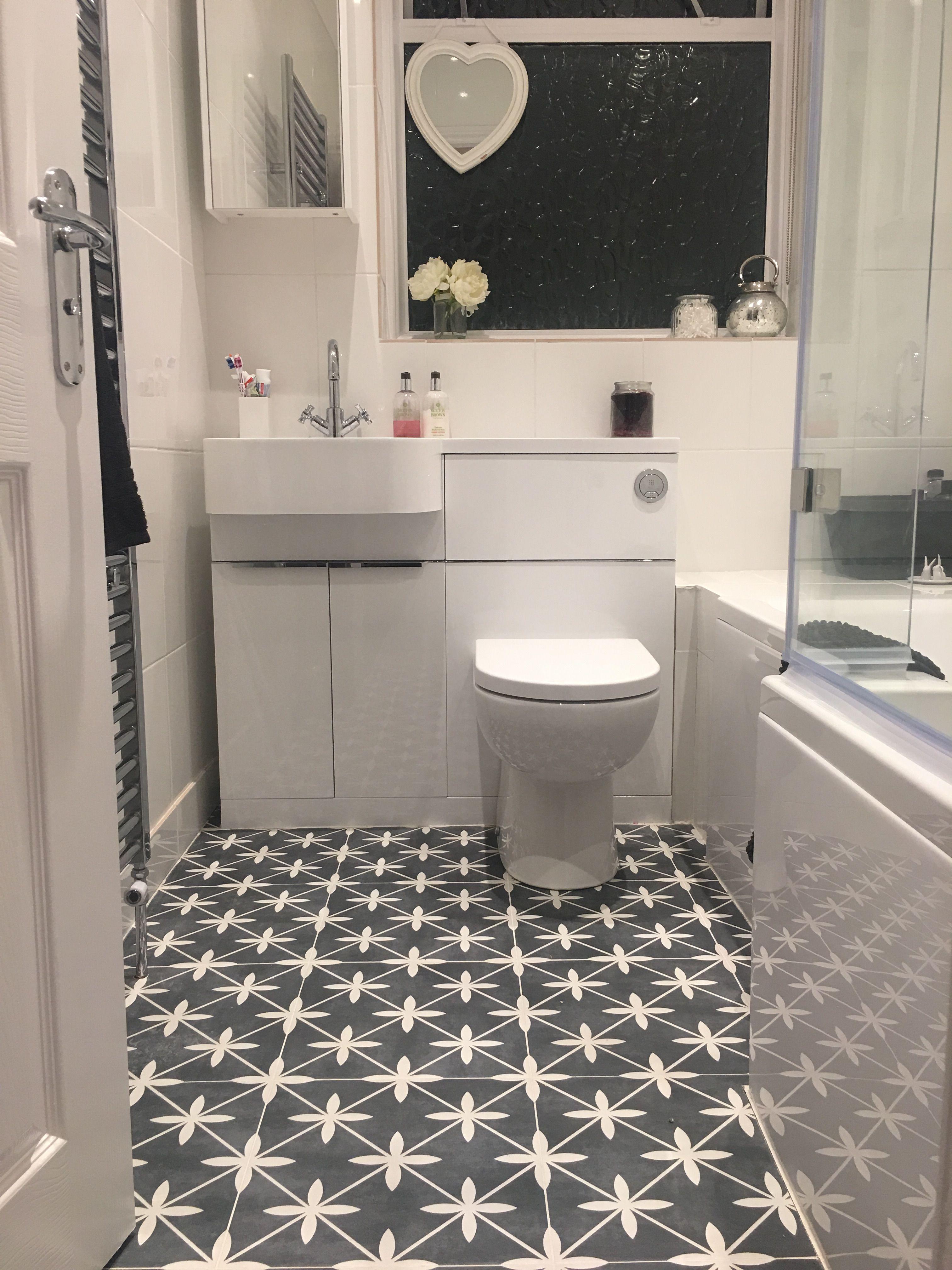 Laura Ashley Bathroom Floor Tiles | Small bathroom, Small ...