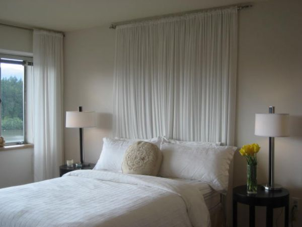 Whimsical Headboard Ideas Without The Actual Headboard Simple