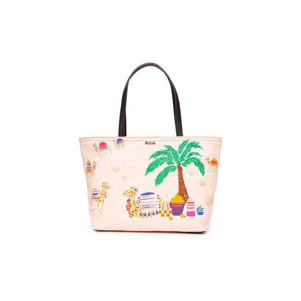 Kate Spade New York Camel Francis Tote 266 Cad Liked On Polyvore Featuring